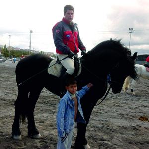 Sultan Sazlığı'nda At Biniciliği