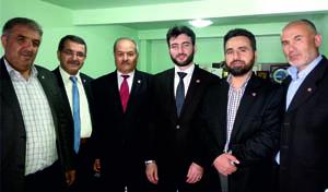 Milli İttifak Develi'de Seçim bürosunu açtı, Ziyaretlerde bulundu