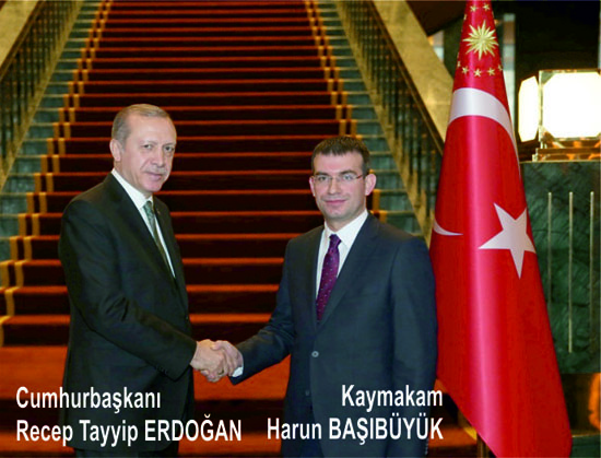 İlçe Kaymakamımız Cumhurbaşkanımız Erdoğan'dan Selam Getirdi…