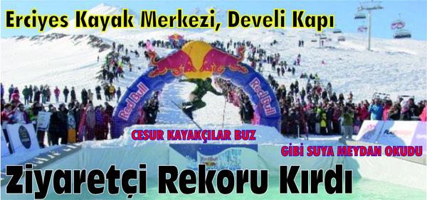 Erciyes Kayak Merkezi, Develi Kapı Ziyaretçi Rekoru Kırdı