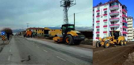 Ana Yollar ve Mahallelerdeki Çöken Yollar Onarılmaya Başlandı