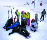 Erciyes'te Kar Kalınlığı 1 Metre 20 Santimetre