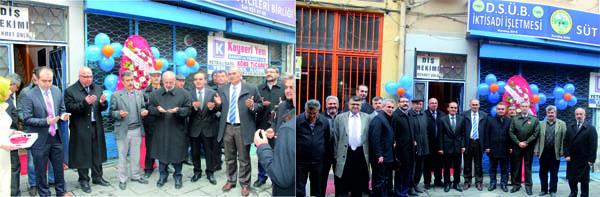 Develi Süt Üreticileri Birliği Yeni Ofisi Açıldı