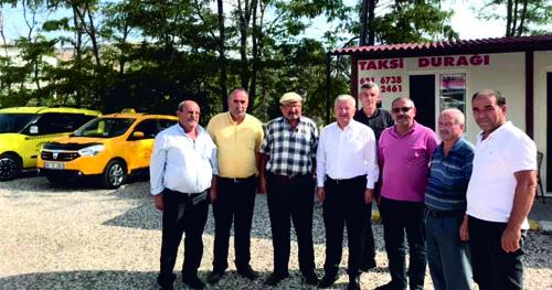 Kaymakam Duru'dan Taksicilere Ziyaret…