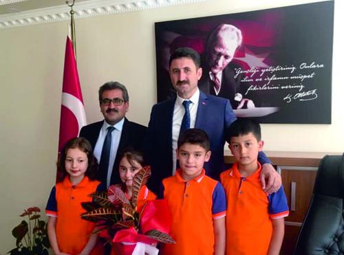 İlçe Milli Eğitim Müdürü Murat Toprak Gazetemiz Aracılığıyla Teşekkür Etti…
