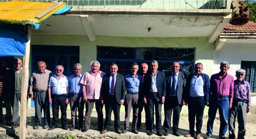 Cabbar Başkan Kırsal Mahallelerde Yürütülecek Çalışmaları Yerinde İnceledi