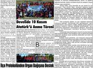 Çağdaş Develi Gazetesi, 15 Kasım 2019, Sayfa 3