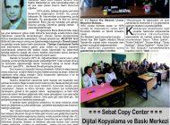 Çağdaş Develi Gazetesi, 15 Kasım 2019, Sayfa 2