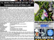 Çağdaş Develi Gazetesi, 22 Kasım 2019, Sayfa 8