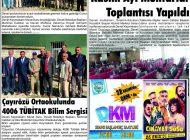 Çağdaş Develi Gazetesi, 22 Kasım 2019, Sayfa 2