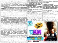 Çağdaş Develi Gazetesi, 29 Kasım 2019, Sayfa 2