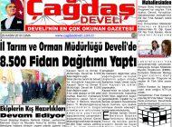 Çağdaş Develi Gazetesi, 29 Kasım 2019, Sayfa 1