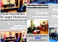 Çağdaş Develi Gazetesi, 06 Aralık 2019, Sayfa 2