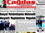 Çağdaş Develi Gazetesi, 06 Aralık 2019, Sayfa 1