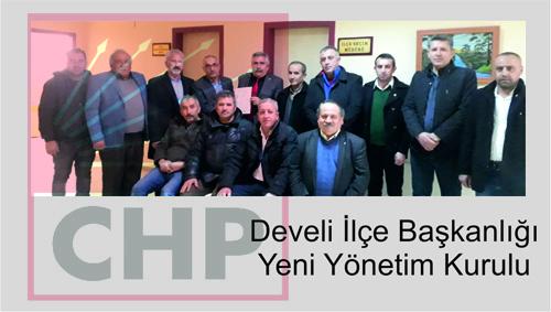 CHP Develi İlçe Başkanı Yusuf Bulut Oldu…