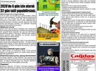 Çağdaş Develi Gazetesi, 03 Ocak 2020, Sayfa 5