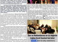 Çağdaş Develi Gazetesi, 03 Ocak 2020, Sayfa 2