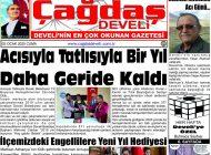 Çağdaş Develi Gazetesi, 03 Ocak 2020, Sayfa 1