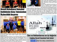 Çağdaş Develi Gazetesi, 10 Ocak 2020, Sayfa 2