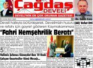 Çağdaş Develi Gazetesi, 10 Ocak 2020, Sayfa 1