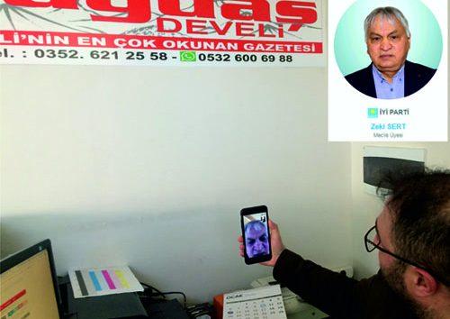 """ZEKİ SERT'DEN AÇIKLAMA """"İSTİFA ETMEKTEN VAZGEÇTİM"""""""