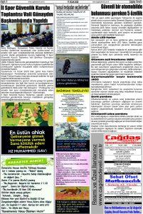 Çağdaş Develi Gazetesi, 17 Ocak 2020, Sayfa 5