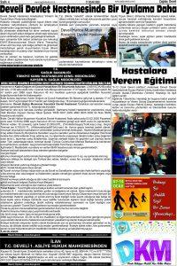 Çağdaş Develi Gazetesi, 17 Ocak 2020, Sayfa 4