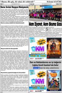 Çağdaş Develi Gazetesi, 17 Ocak 2020, Sayfa 2
