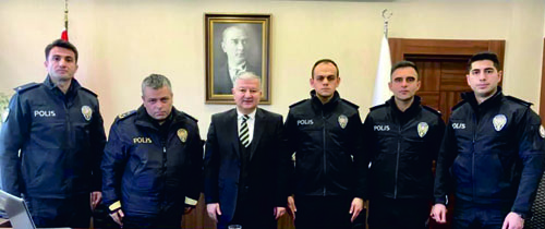 Dört Komiser Yardımcısı İlçemizde Görevlerine Başladılar