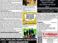 Çağdaş Develi Gazetesi, 31 Ocak 2020, Sayfa 5