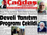 Çağdaş Develi Gazetesi, 31 Ocak 2020, Sayfa 1