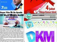 Çağdaş Develi Gazetesi, 07 Şubat 2020, Sayfa 8