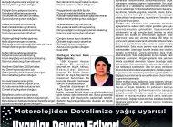 Çağdaş Develi Gazetesi, 07 Şubat 2020, Sayfa 7