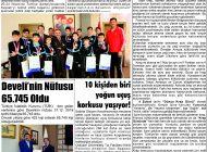 Çağdaş Develi Gazetesi, 07 Şubat 2020, Sayfa 3