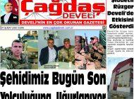 Çağdaş Develi Gazetesi, 07 Şubat 2020, Sayfa 1