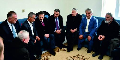 Bakan Yardımcısı Aksu'dan Şehidimizin Evine Ziyaret