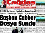 Çağdaş Develi Gazetesi, 14 Şubat 2020, Sayfa 1