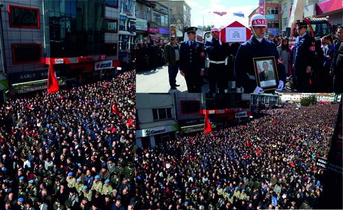 Develi'li Şehit Ali Taşöz Son Yolculuğuna Uğurlandı
