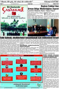 Çağdaş Develi Gazetesi, 20 Mart 2020, Sayfa 2