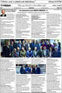 Çağdaş Develi Gazetesi, 27 Mart 2020, Sayfa 7