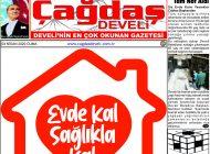 Çağdaş Develi Gazetesi, 03 Nisan 2020, Sayfa 1