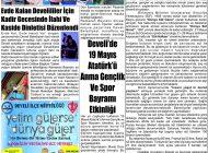Çağdaş Develi Gazetesi, 22 Mayıs 2020, Sayfa 3