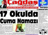 Çağdaş Develi Gazetesi, 29 Mayıs 2020, Sayfa 1