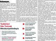 Çağdaş Develi Gazetesi, 12 Haziran 2020, Sayfa 8