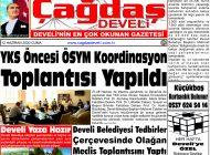 Çağdaş Develi Gazetesi, 12 Haziran 2020, Sayfa 1