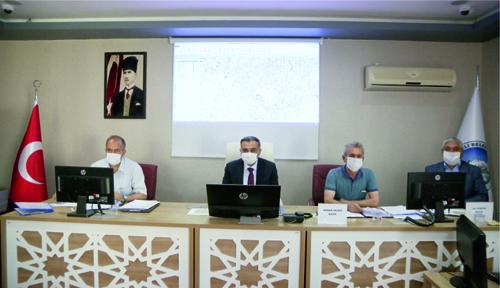 Develi Belediyesi Tedbirler Çerçevesinde Olağan Meclis Toplantısını Yaptı