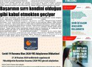 Çağdaş Develi Gazetesi, 26 Haziran 2020, Sayfa 8