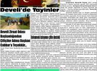 Çağdaş Develi Gazetesi, 26 Haziran 2020, Sayfa 3