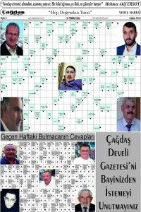 Çağdaş Develi Gazetesi, 24 Temmuz 2020, Sayfa 6