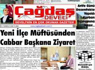 Çağdaş Develi Gazetesi, 31 Temmuz 2020, Sayfa 1